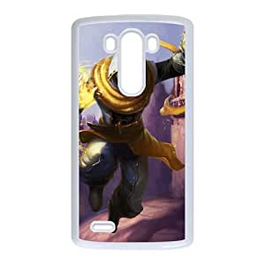 LG G3 Cell Phone Case White League of Legends Shadow Prince Malzahar LK1627393