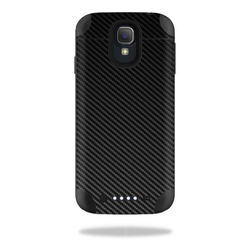 Mightyskins Protective Vinyl Skin Decal Cover for Mophie Juice Pack Samsung Galaxy S4 External Battery Case wrap sticker skins Carbon Fiber (Juice Case Samsung S4 compare prices)