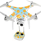 MightySkins Protective Vinyl Skin Decal for DJI Phantom 3 Professional Quadcopter Drone wrap cover sticker skins Orange Slices