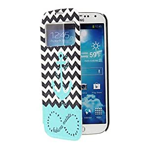 HJZ Samsung S4 I9500 compatible Graphic PU Leather Full Body Cases