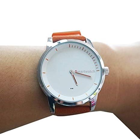 TOOGOO S68 Reloj Inteligente Automático Impermeable Alarma Inteligente Reloj Inteligente Redondo Bluetooth Reloj GPS para iOS 7.0 Android 4.3 iPhone.