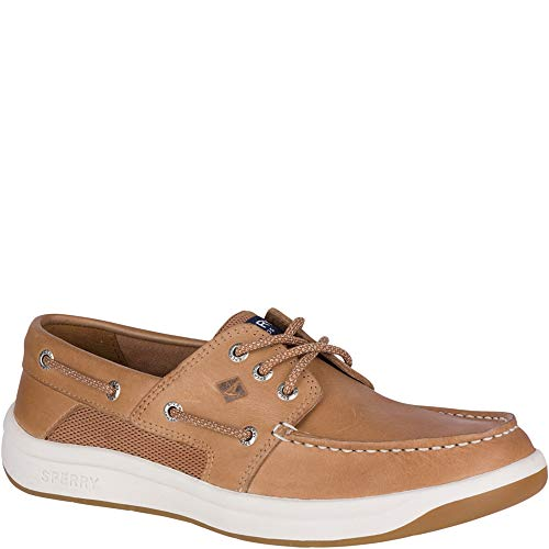 SPERRY Men's Convoy 3-Eye Boat Shoe, Linen, 9