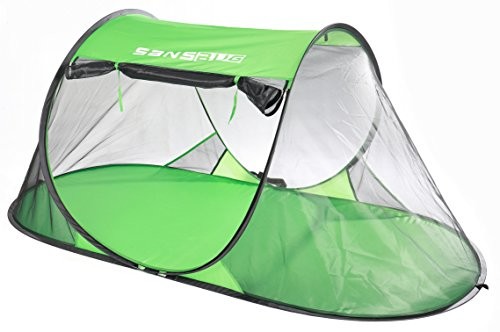 SansBug 1-Person Free-Standing Pop-Up Mosquito-Net (Poly Floor)