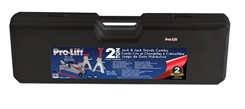 Pro-LifT F-2330BMC Grey Floor Jack and Stand Combo by Pro-LifT (Image #3)