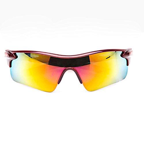 Gafas LAAT polarizadas deportivas Acampar pesca medio de para Gafas Montar de 4 sol correr de gafas de con borde sol aire Deportes de Gafas al sol bicicleta libre hombre 7qxr70