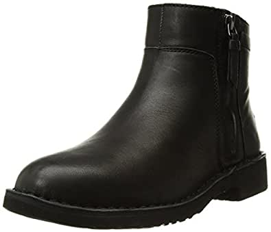 Amazon Com Ugg Women S Rea Leather Fashion Boot Ankle