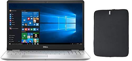 "Newest Dell Inspiron 5000 15.6"" FHD Touchscreen Premium Business Laptop, Intel Quad Core i5-8265U, 16GB RAM, 1280 GB Hybrid Drive, Backlit Keyboard, Windows 10, w/ WOOV Accessory Bundle - Silver"