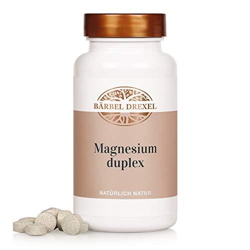 BÄRBEL DREXEL® Magnesium Duplex Kapseln, Magnesiumcitrat + Magnesiumcarbonat (200 Stk) 100% Vegane Herstellung Deutschland Laborgeprüft, Hochdosiert, Vegan