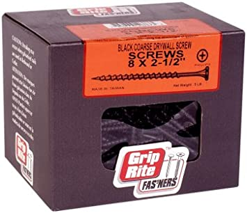 Black Grip-Rite Grip Rite 212CDWS5 1- Pack