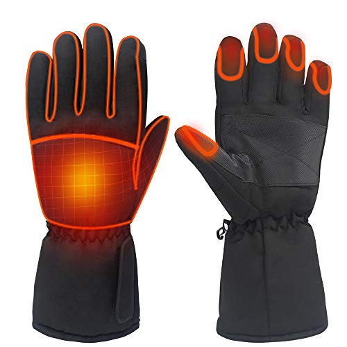 ladies heated gloves - 8