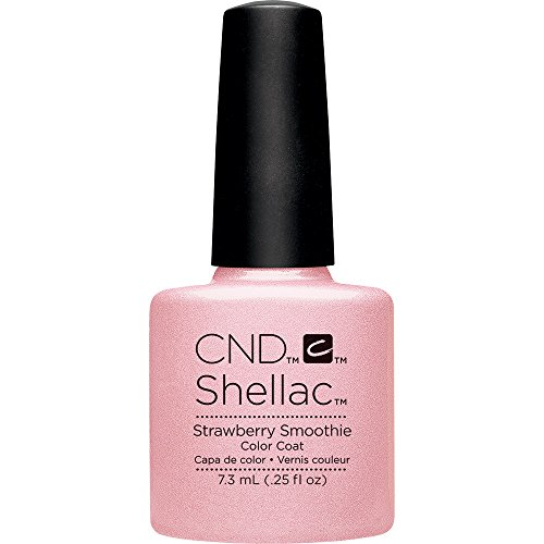 CND Shellac Nail Polish, Strawberry Smoothie, 0.25 fl. oz.