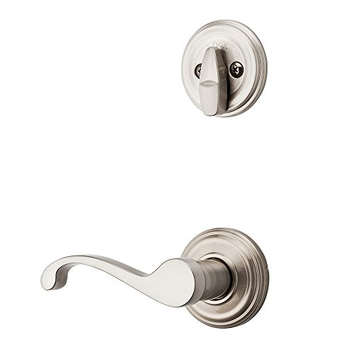 Kwikset 966CHL RH 15 Commonwealth Lever44; Right Hand & Inside Trim for Single Cylinder Handleset - Satin Nickel