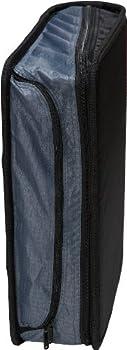 Case-it Mighty Zip Tab 3-inch Zipper Binder, Black, D-146-blk 7