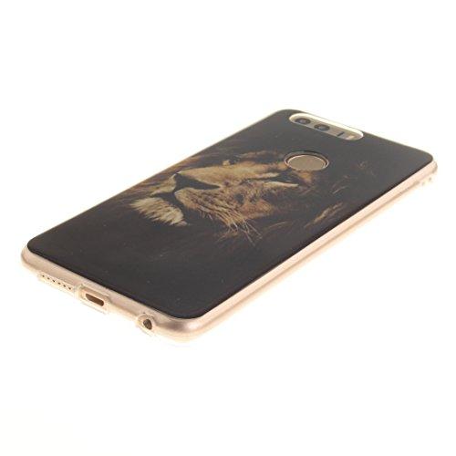 En Honor De Slim Cas Antichoc Arrière Motif TPU De Couverture Fit Transparent Silicone Résistant Bord Huawei tiger 8 Hozor Protection Cas Scratch Souple Peint Téléphone 8w5Rn7
