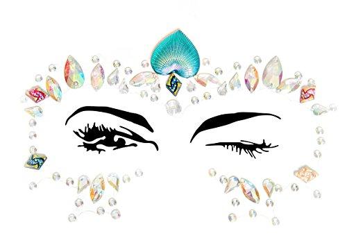 LEG AVENUE(レッグアベニュー) 【ボディジュエルシリーズ】ARIEL adhesive face jewels sticker EYE010
