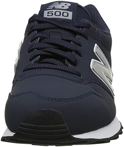 Malawi Triatleta golpear  New Balance Men's 500 Trainers, Blue Navy, 9 (43 EU), Gm500Blg: Buy Online  at Best Price in UAE - Amazon.ae