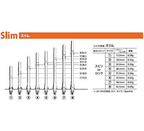 Ca/ñas fit shaft gear slim giratoria blanca talla 3