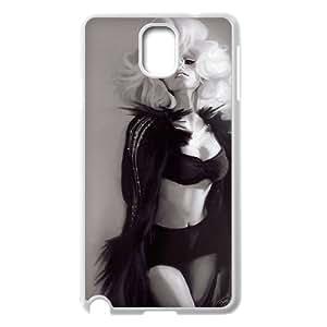 DIYCASETORE Diy Case Lady Gaga customized Bumper Plastic case For samsung galaxy note 3 N9000