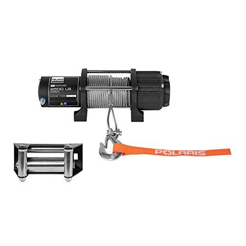Polaris Genuine Accessories 14-19 Polaris SPORTS570 HD 2500-LB Integrated Winch Kit (Steel Cable)