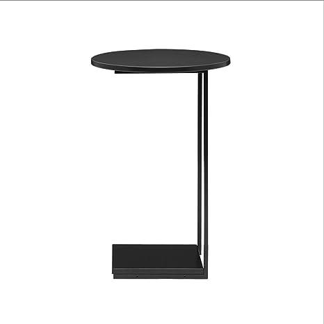 Amazon.com: Zcx - Mesa auxiliar pequeña en forma de C para ...