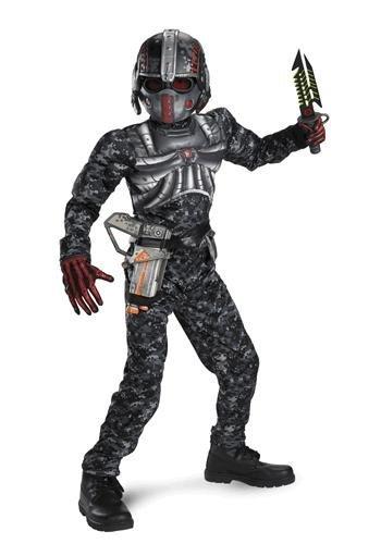 Recon Commando Muscle Kids Costume (Recon Commando Costume Boys)