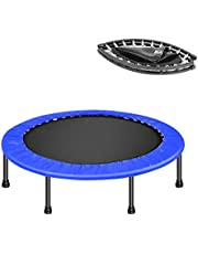 Soges Rebounder Mini Trampoline Fitness Trampoline for Adult or Kids Folding Rebounder for Home Exercise Supports Up to 220 Pounds