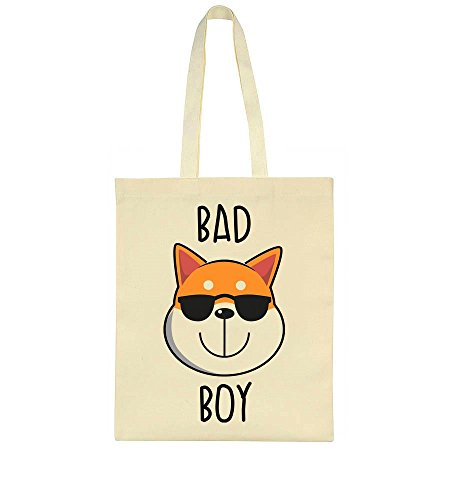 Bag Sunglasses Tote Dog Cool Inu Bad With Shiba X01w8