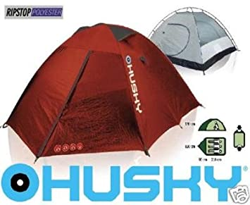 Husky Extreme Beast 3-Person Dome-Tent Red 5000 mm  sc 1 st  Amazon UK & Husky Extreme Beast 3-Person Dome-Tent Red 5000 mm Hydrostatic ...