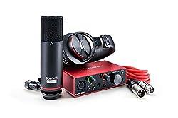 Focusrite Scarlett Solo Studio (3rd Gen) USB Audio...
