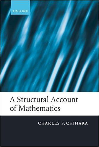 Laden Sie kostenlos epub books google herunter A Structural Account of Mathematics PDF 0199228078