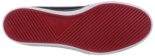 Lacoste AMPTHILL LCR Herren Hohe Sneakers Schwarz (BLK/BLK 02H)