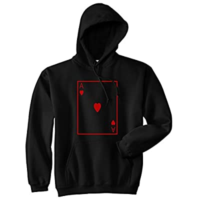 Ace Of Hearts Pullover Hoodie Hoody hot sale