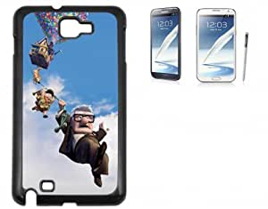 Samsung Galaxy Note 2 Hard Case with Printed Design Up