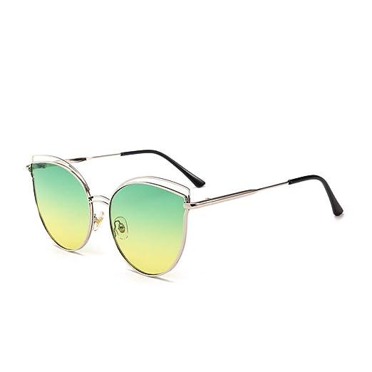 Yangjing-hl Gafas de Sol Modelo Viento Moda Gafas Coloridas ...