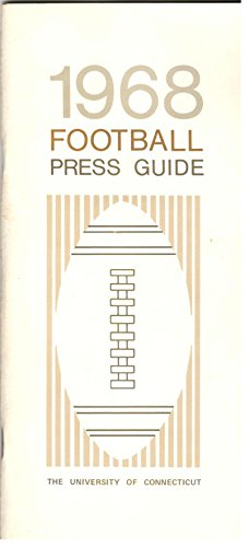 (University of Connecticut Football 1968 Press Guide (UConn))