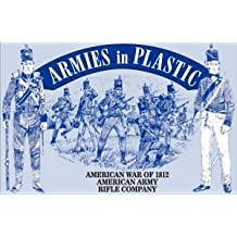 American War of 1812 American Army Rifle Company (16) 1/32 Armies in Plastic