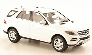 Mercedes Clase M (W166) ML, blanco , 2011, Modelo de Auto, modello completo, Minichamps 1:43