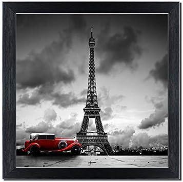 Beautiful Paris Eiffel Tower 5 Pieces canvas Wall Art Picture Home Decor