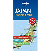 Lonely Planet Japan Planning Map 1st Ed.