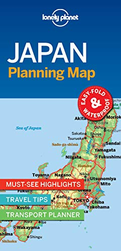 (Lonely Planet Japan Planning Map)