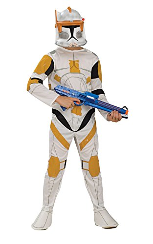 Star Wars Clone Wars Clone Trooper Child's Commander Cody Costume, (Star Wars Clone Troopers Costumes)