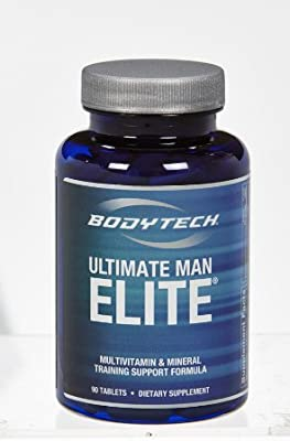 Amazon.com: bodytech – ULTIMATE Hombre Elite, 90 tabletas ...