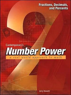 by Jerry Howett Contemporary's Number Power 2: Fractions Decimals and Percents (Essentials) (text only)[Paperback]2000