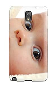 Hot pc Cover Case For Galaxy/ Note 3 Case Cover Skin - Beautiful Babies