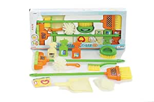 Castle Toy Housekeeping Cleaning Play Set - 12 pieces