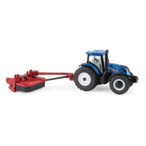 ERTL 1/64 New Holland T6.175 MFD with H7230 Mower Conditioner