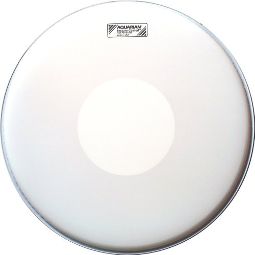 Aquarian Drumheads TCPD14 Texture Coated 14-inch Snare Drum Head, with Dot Texture Dots