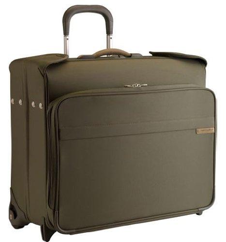 Olive Garment Bag - 6