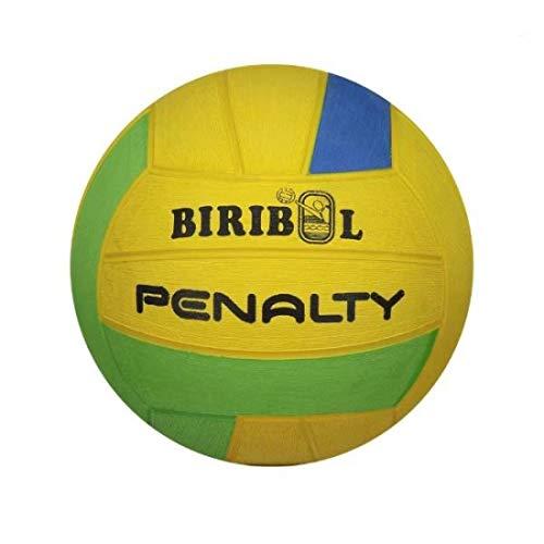 Bola Biribol VIII Penalty 62 cm Amarelo