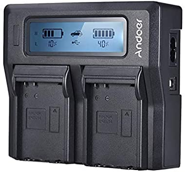 Color : Black, Socket Standard : UK Plug XSWY Andoer NP-FZ100 Camera Battery Charger for Sony Dual Channel LCD Camera Battery Charger for Sony A7III A9 A7RIII A7SIII Easy to use